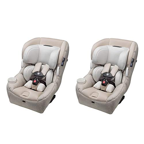 Maxi-Cosi Pria 85 Max Convertible 5-85 lb. Baby Infant Car Seat, Sand (2 Pack)