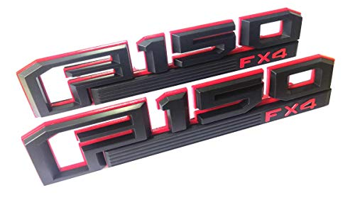 red and black f150 emblem - 9