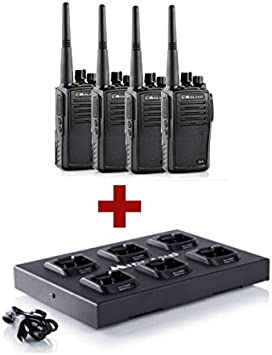 Pack 4 Midland G15 + Cargador múltiple: Amazon.es: Electrónica