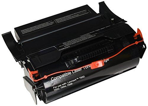 Elite Image ELI75591 Compatible Toner Replaces Lexmark T650H11A, Black