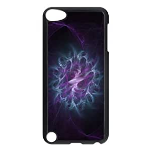 For SamSung Note 4 Phone Case Cover Abstract Silk Smoke Purple Flower Hard Shell Back Black For SamSung Note 4 Phone Case Cover 310156