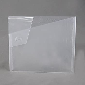 Clear Plastic Document Holder Rigid Poly   Box Of 24