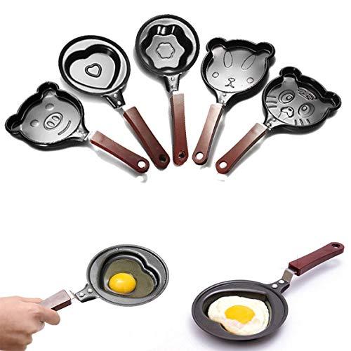 Sartén antiadherente para freír huevos con forma de Omelette ...