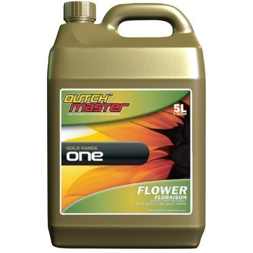 Dutch Master Nutrients (Dutch Master Gold One Flower, 5 Liter)