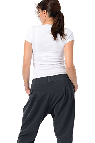 3elfen Femme Jasmin Relaxed Pantalon Gris Pantalons 1Owqr1