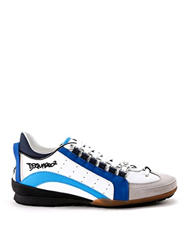 DSQUARED2 HOMME S17SN434714M585 MULTICOLORE CUIR BASKETS