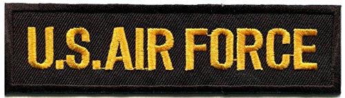 U.s. Air Force Military Insignia War Biker Retro Applique Iron-on Patch S-1073 Free Shipping