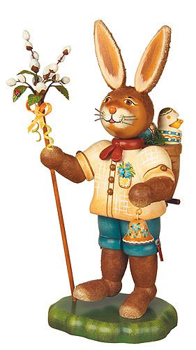 Small Figures & Ornaments Rabbit Hans - 28cm / 11inch - Hubrig Volkskunst