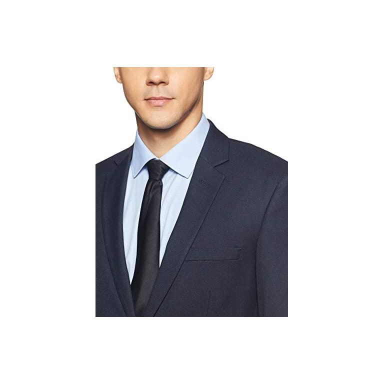 41l5RmQvkfL. SS768  - Raymond Men's Notch Lapel Slim fit Blazer