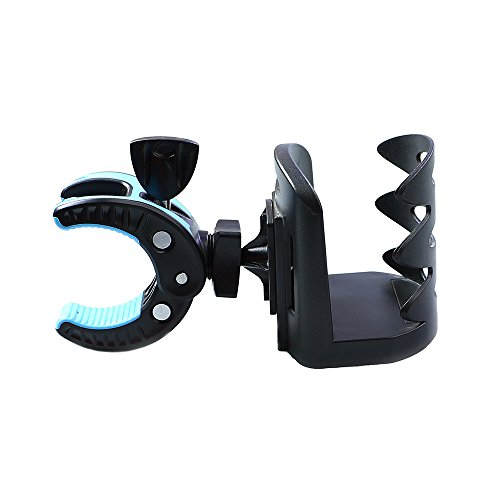 Mountain Bike Cup Holder, Can Be Shrunk Before And After 2.2-2.8 inch, No Tools Can Be 360 ° Rotated To Adjust the Cup, Kettle Stent,Suitable For All Mountain Bikes
