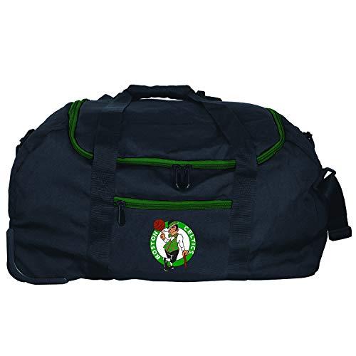 Denco NBA Boston Celtics Mini Collapsible Duffel, 22-inches, Black