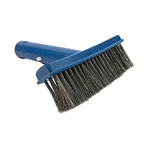Economy Tile - Puri Tech Economy 5 Inches Algae Pool and Spa Brush with Stainless Steel Bristles