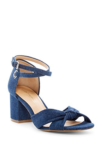 Block by Daya Sandal Heel Zendaya Monte Womens Denim Blue IqRCSqw