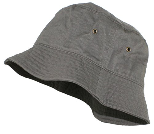 Ted and Jack Beachside Solid Cotton Bucket Hat Olive Size S/M