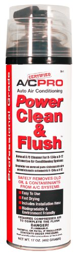 Interdynamics CA1 A/C Pro Auto Air Conditioning Power Clean and Flush Aerosol A/C Cleaner for R134a and R12 Automotive Air Conditioning Systems ()