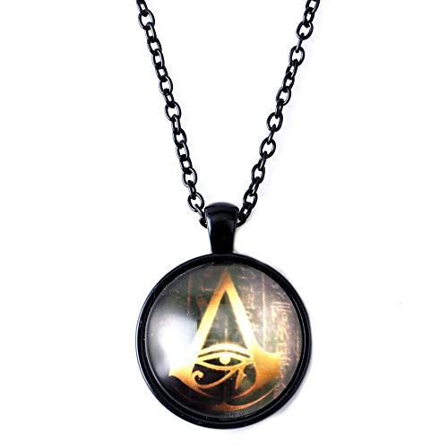 Inveroo Game Anime Peripheral Origin Assassins Creed Necklace Time Pendant (Ac Creed Necklace)