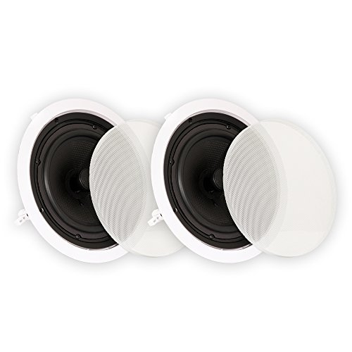 Theater Solutions TS50C 5.25-Inch Kevlar In Ceiling Speakers (White)