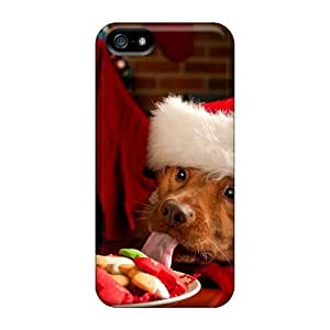 ConnieJCole YtwhoIx216WHHXx Case For Iphone 5/5s With Nice Christmas And Happy New Year Adorable Friends Appearance