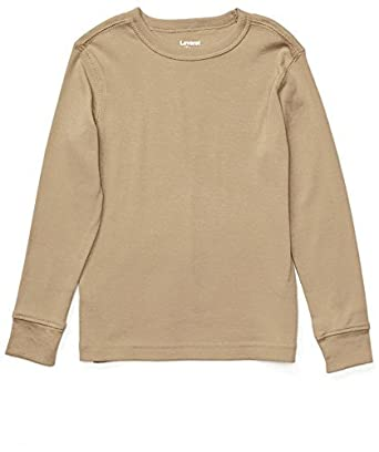 Amazon.com: Leveret Long Sleeve Solid T-Shirt 100% Cotton (Size 2 ...