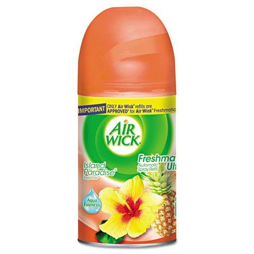 Air Wick Freshmatic Ultra Automatic Spray Disp. Refill, Island Paradise, Aerosol, 6.17oz by Air - Ny In Shopping Malls