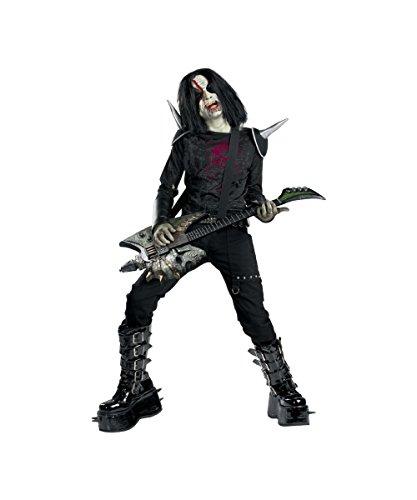 Zombie Rock Star Halloween Costumes - Metal Mayhem Medium 7-8
