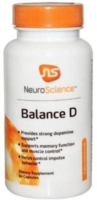 NeuroScience Balance D, 60 Capsules