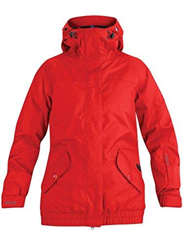 Nieve chaqueta Dakine Hayley chaqueta Mujer Rojo - auroroa red