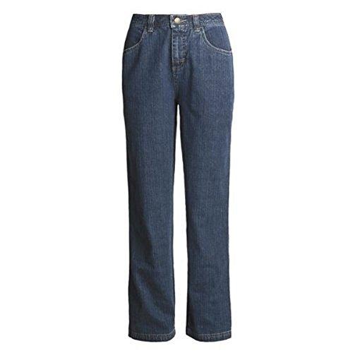 Woolrich Women's Cedar Rock Stretch Jeans (14, Blue Jeans) (Natural Waist Jeans)