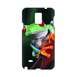Cool-benz Unique red claw green frog 3D Phone Case for Samsung Galaxy Note4