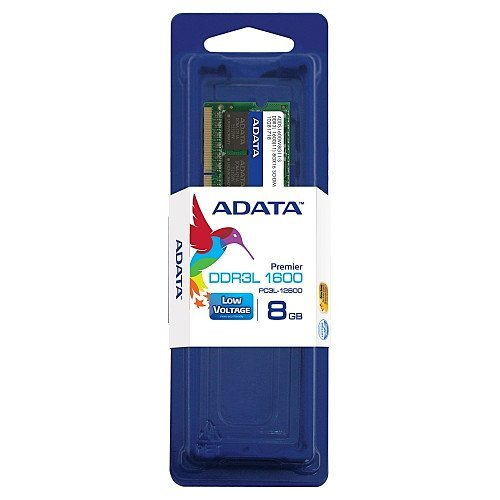ADATA Premier DDR3L 1600MHz 8GB SODIMM Low Voltage...