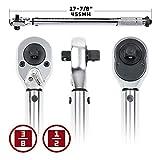 Alltrade 944001 3/8 &1/2 Dual Dr Torque Wrench