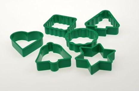 Mira plast (C) Juego de moldes para cortar galletas de jengibre (6)