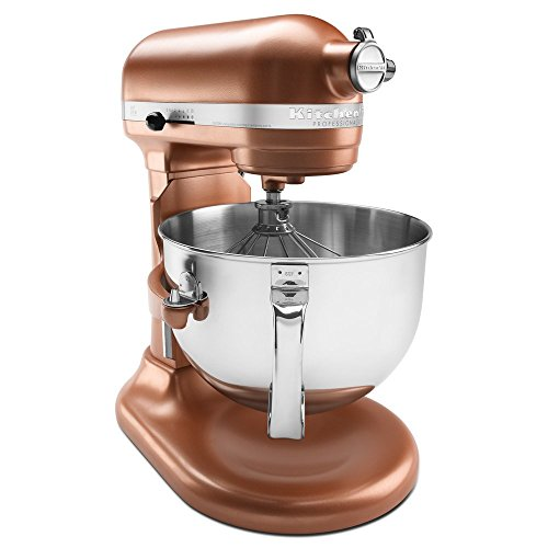 - KitchenAid KP26M1XCE 6 Qt. Professional 600 Series Bowl-Lift Stand Mixer - Copper Pearl (Renewed)