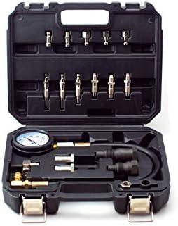 VCT Diesel Engine Compression Cylinder Pressure Tester Gauge Set 0-1000 psi