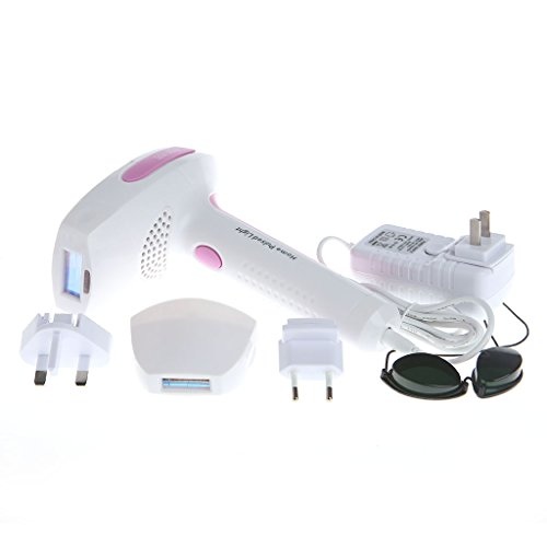 AISme 920 Depilator IPL Permanent Hair Removal Machine Painless Face Body Shaving Epilator Kit (Pink)