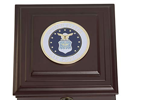 Allied Frame US Air Force Medallion Desktop Box