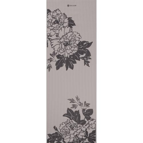 Gaiam Gray Gray Prosperity Print Yoga Mat