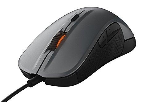 SteelSeries Rival 300, Optical Gaming Mouse - Gunmetal Grey (Certified Refurbished)
