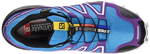 Blue Bleu Scuba Trail Black Purple Cosmic 3 Women's Salomon GTX Or Shoes Speedcross Running Azul fHB1qxTpw