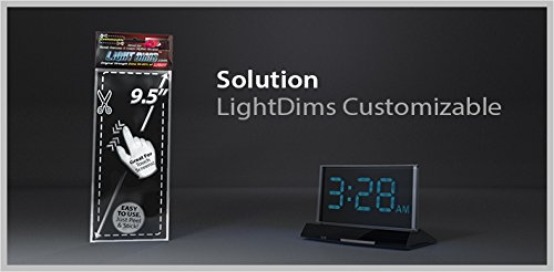 Electronics and Appliances and More Light Dimming LED Covers//Light Dimming Sheets for Routers Dims 50-80/% of Light LightDims Original Strength in Retail Packaging.