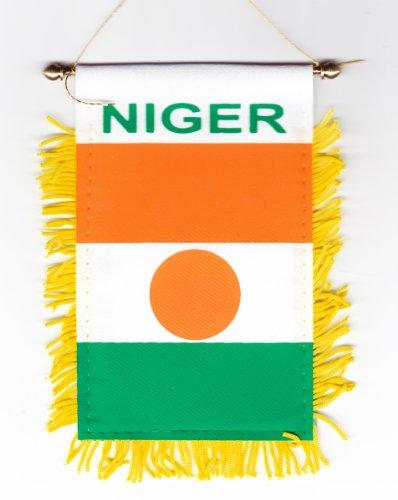 Niger - Window Hanging Flag