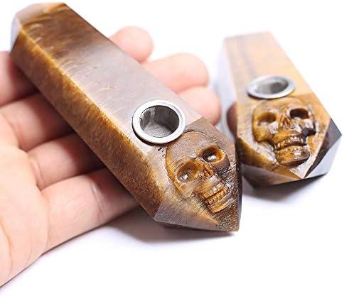 慎重に刻まれたスカル字管、ユニークな隠されたデザインは、あなたに別のサプライズ、手作りのギフトを与えます