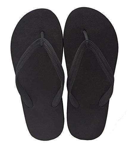 Pictures of Feisco Women Rubber Flip Flops Thong Sandal 7