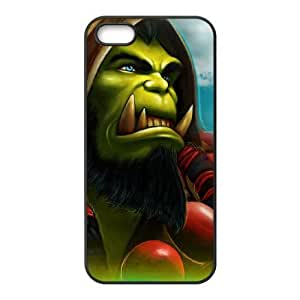 iphone5 5s Black phone case World of Warcraft Thrall WOW9995907