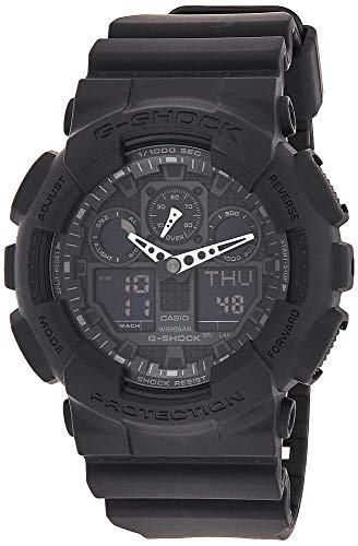 Casio G-Shock Men's Big Combi Military Series Watch, Black, One Siz
