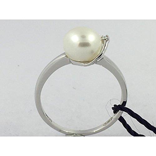 Bague Bliss pour femme 2109100or blanc perle