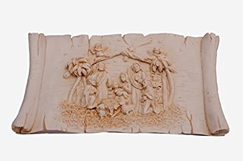 New Best 2 in 1 Jesus Holy Family Plate Statue Wall Hanging Handmade Carved Handicraft Marble Home Decor Art From India