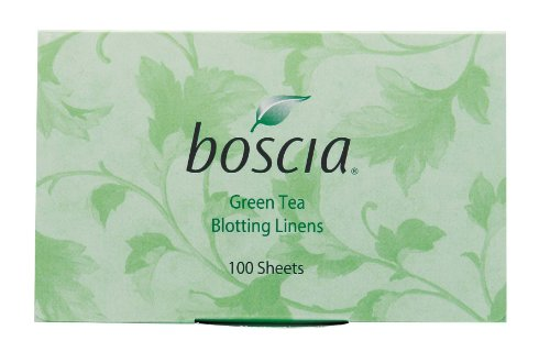 Boscia Green Tea Blotting Linens, 100 Count by boscia