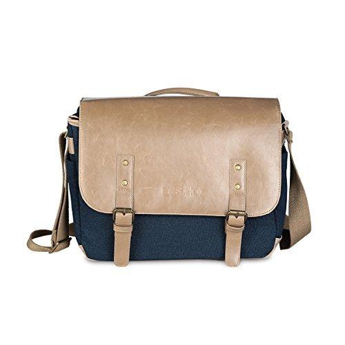 Beschoi Compact Camera Bag DSLR Gadget Messenger Bag Shockproof Travel Padded Shoulder Bag for Canon, Nikon, Olympus, Pentax, Sony, Samsung Digital Cameras (Olympus Bag Gadget)