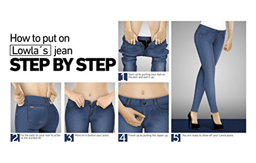 634e5223a LOWLA 217988 Colombian Butt Lifting Jeans for Women Colombianos Levanta  Cola best